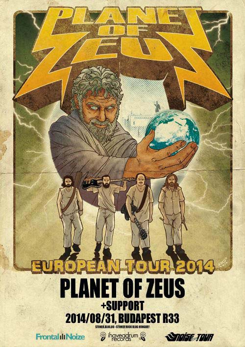 Planet of Zeus + support @ R33 | Budapest | Budapest | Hungary