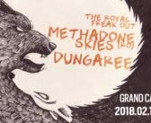 Methadone Skies (RO) / Dungaree / The Royal Freak Out @ Grand Café – Szeged