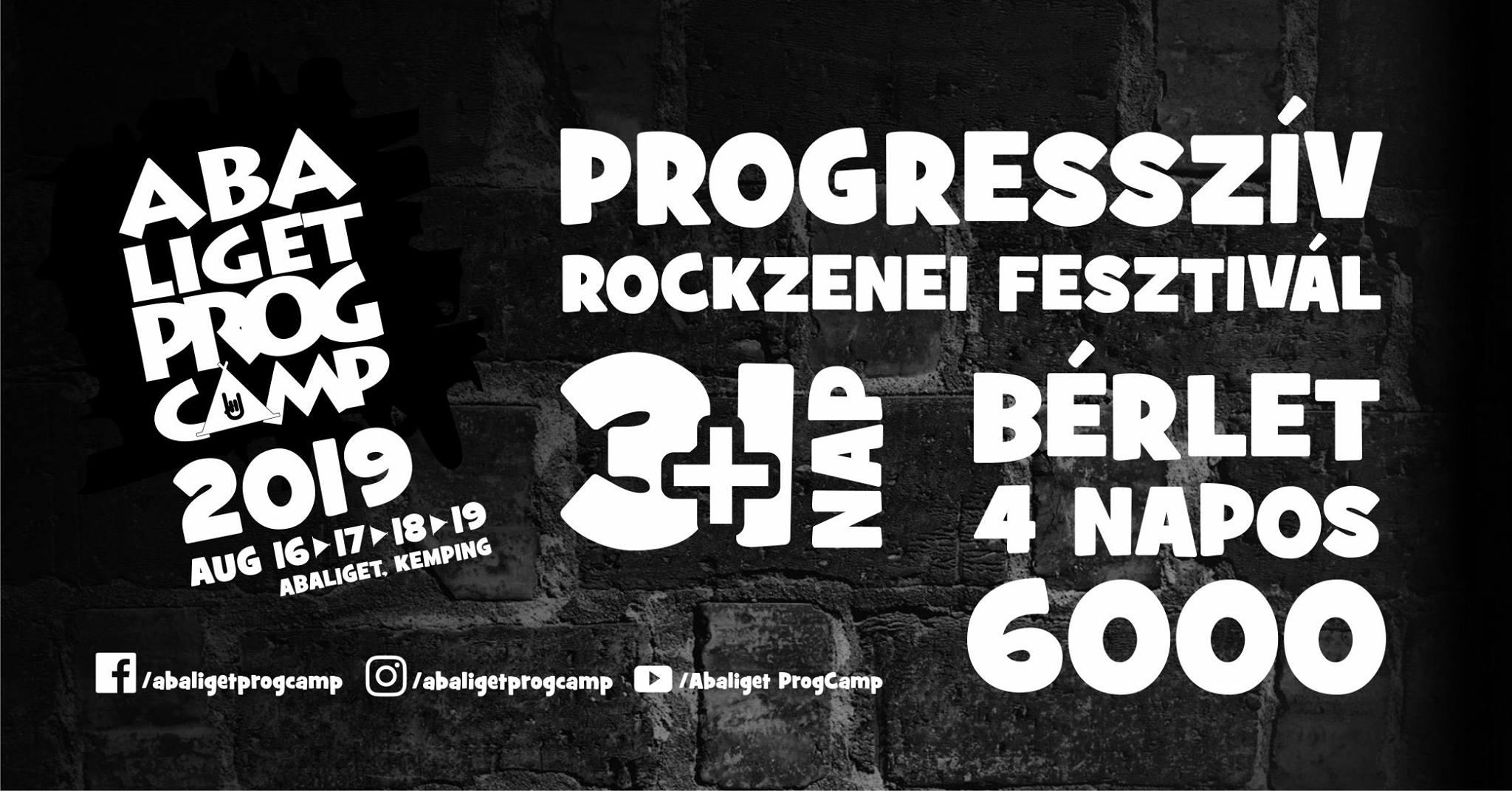 Abaliget Prog Camp 2019 - Progresszív Rockzenei Fesztivál @ Abaliget | Abaliget | Magyarország