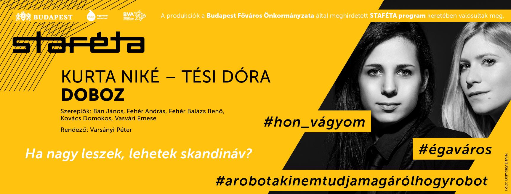 Bemutató: Doboz @ Jurányi Ház @ Jurányi Ház | Budapest | Magyarország